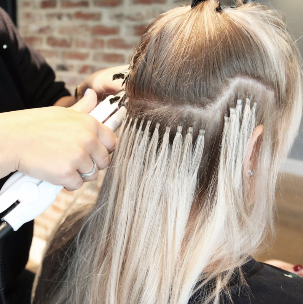 Training hairextensions inzetten Hairloxx Professional
